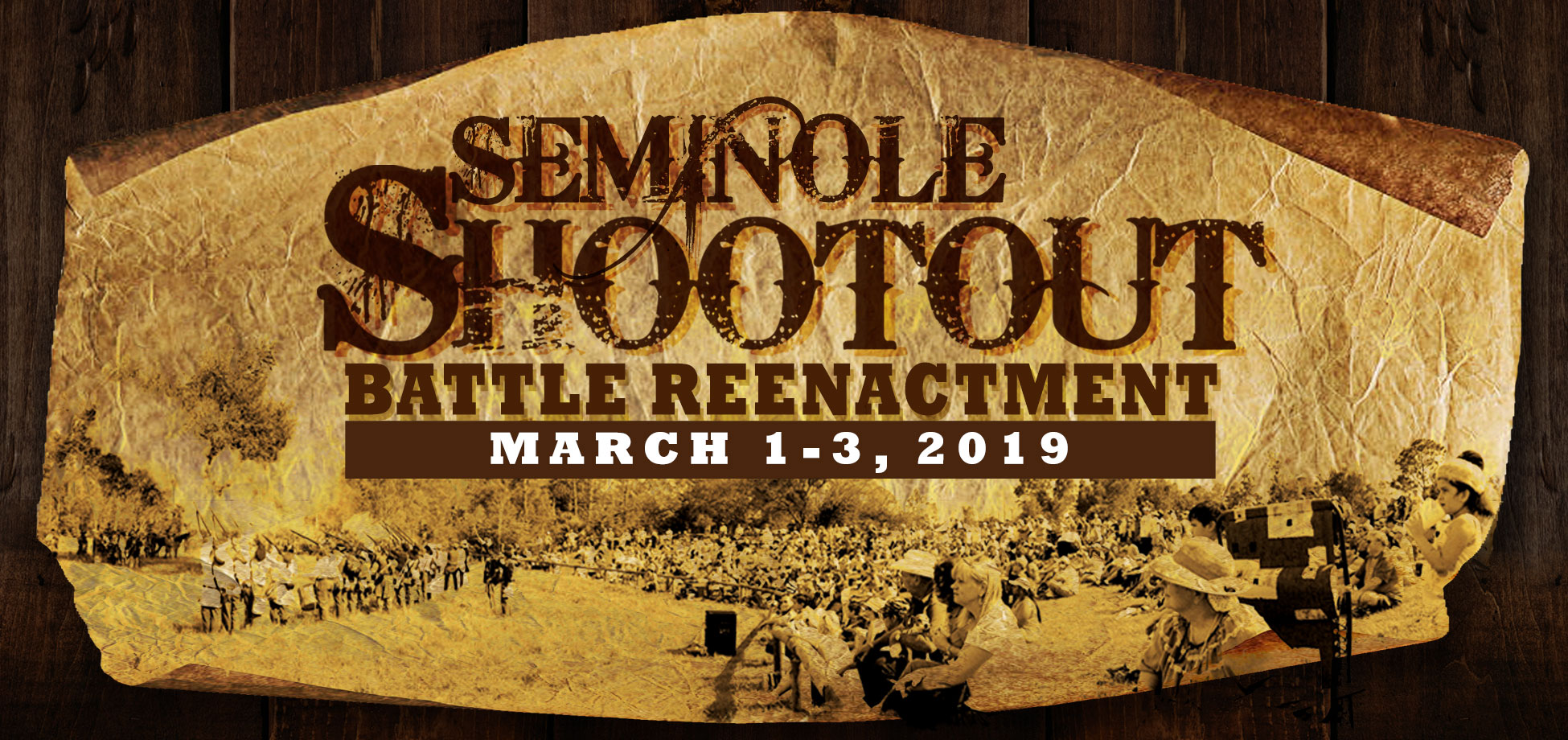 Seminole Shootout Battle Reenactment